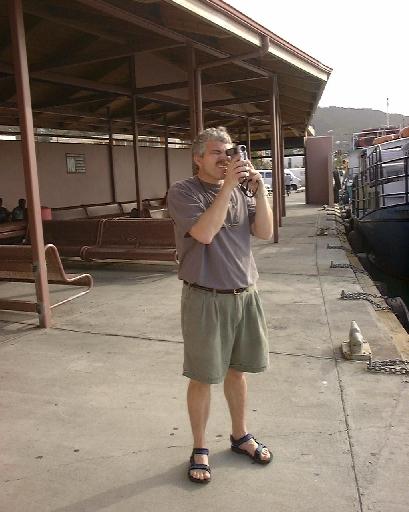 Chuck Holland filming