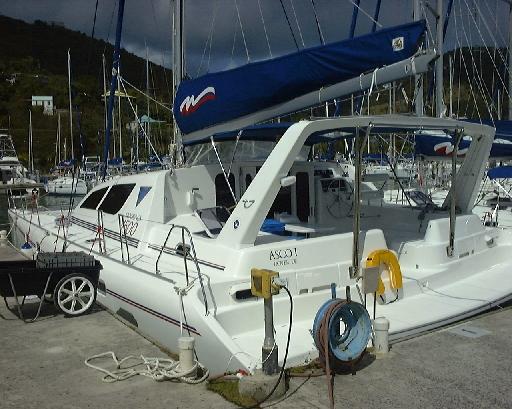 Asco I at the Moorings dock